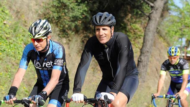 Miguel Induráin protagonista de la Vuelta 123 entre Santander y Madrid