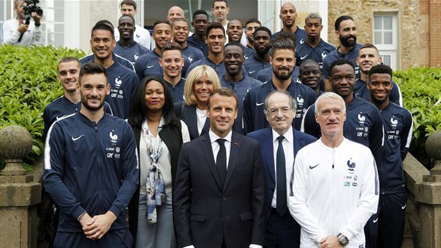 Macron prévient les Bleus : «Une compétition est réussie quand elle est gagnée»