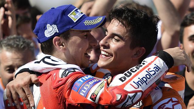 Le pagelle: Lorenzo show, Marquez sempre più vicino al mondiale, sontuoso Valentino Rossi