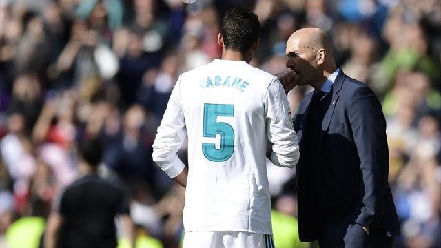 «C'est dur d'entraîner le Real» : Varane revient sur le départ de Zidane