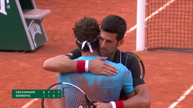 Her må Djokovic gi tapt etter ellevill avslutning