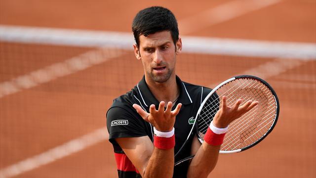 Djokovic : «Si je suis de retour ? De retour dans le vestiaire oui…»