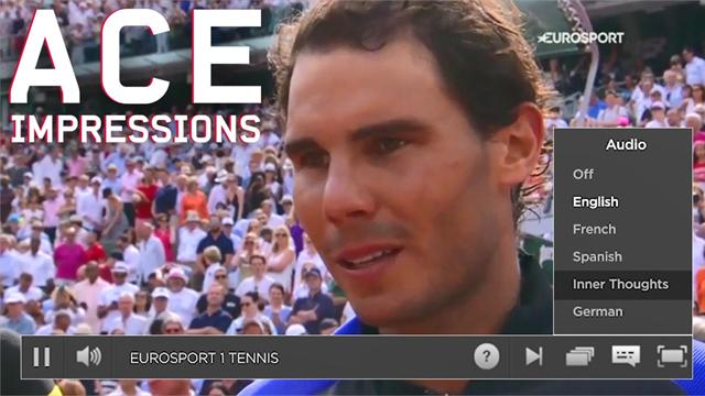 Josh Berry's Ace Impressions: Tennis stars' inner thoughts revealed