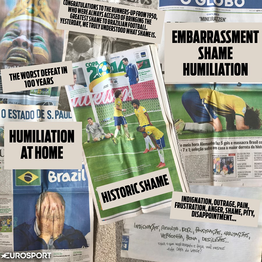 The papers react