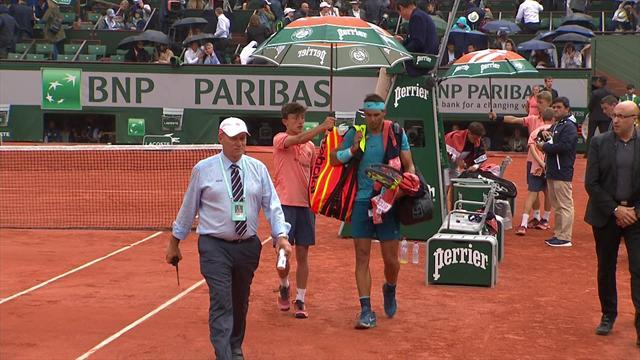 Gered door de regen? Hoogtepunten Nadal - Schwartzman