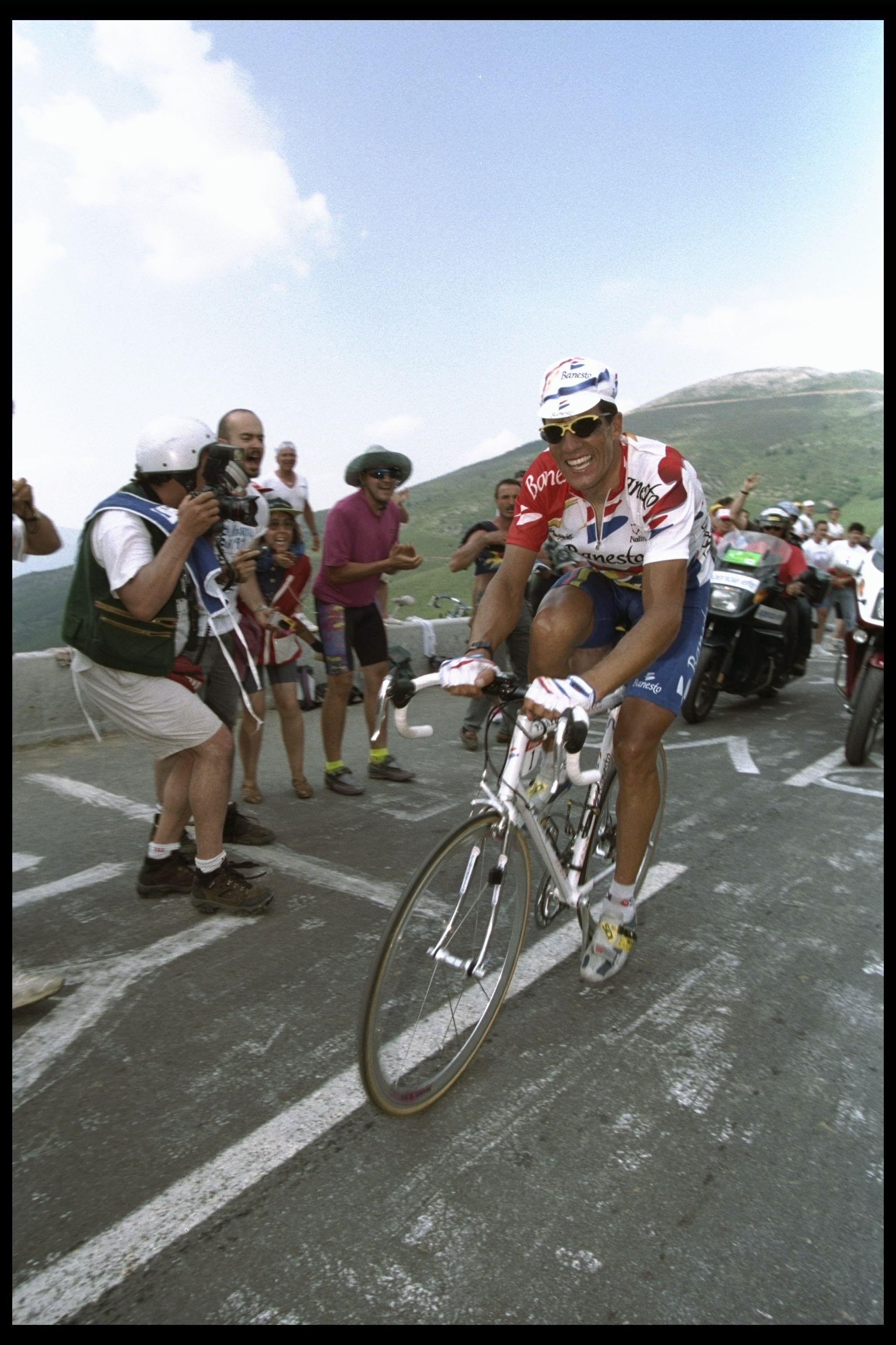 Miguel Indurain, en 1996