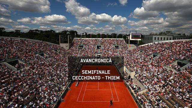 Roland Garros – Semifinale masculine: Cecchinato v Thiem