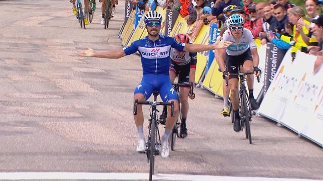 Dauphiné 2018 (4ª etapa): Zarpazo de Alaphilippe; Gianni Moscon, nuevo líder