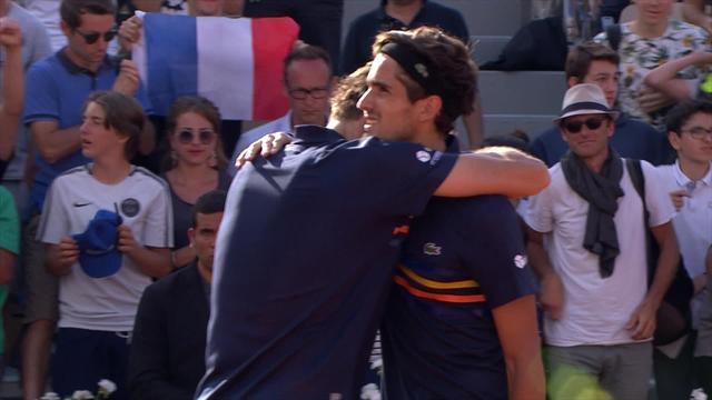 Nicolas Mahut et Pierre-Hugues Herbert en finale — Roland Garros