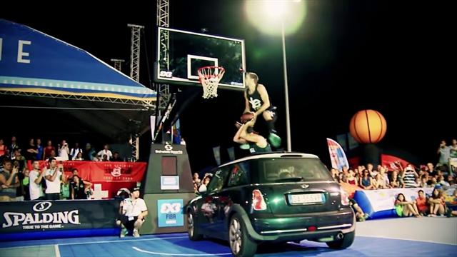 Los diez mejores mates de concurso en el torneo FIBA internacional 3x3