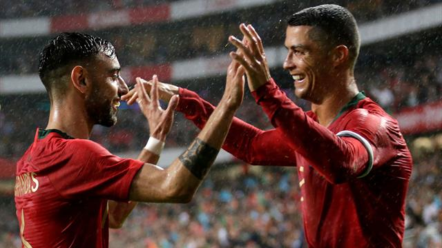 Guedes a ouvert le score, Ronaldo en mode passeur : les buts de Portugal – Algérie en vidéo