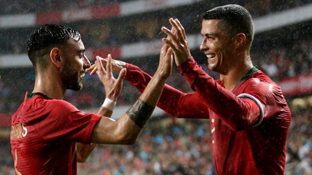 Le Portugal retrouve le chemin de la victoire face à l'Algérie