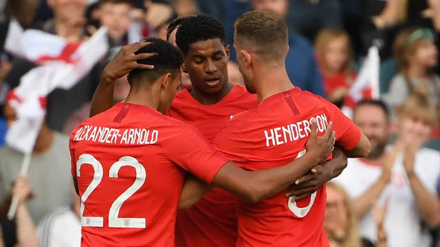 'World class' Marcus Rashford gives Southgate selection headache