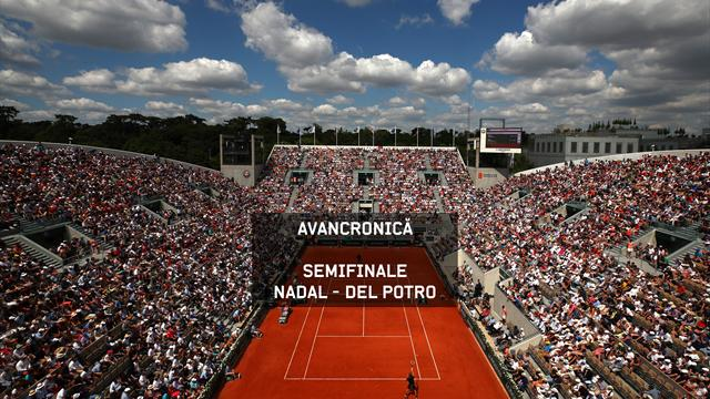 Roland Garros – Semifinale masculine: Nadal v Del Potro