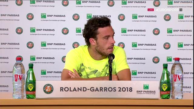 Cecchinato tevreden met prestaties: 'Als ik de 2e set had gewonnen, was het heel anders gegaan.'
