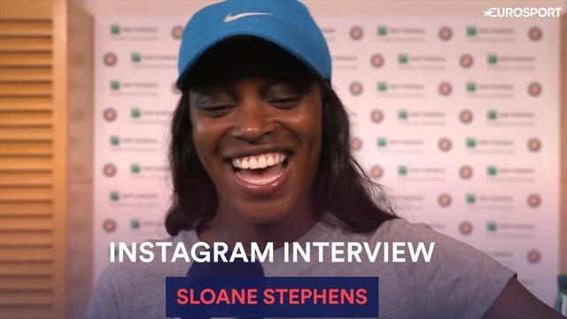 Petit copain, Raptors, chiens : Sloane Stephens se livre avant la finale