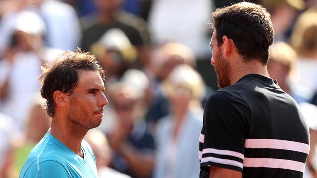 50 minutes de combat puis une boucherie : Nadal a balayé Del Potro