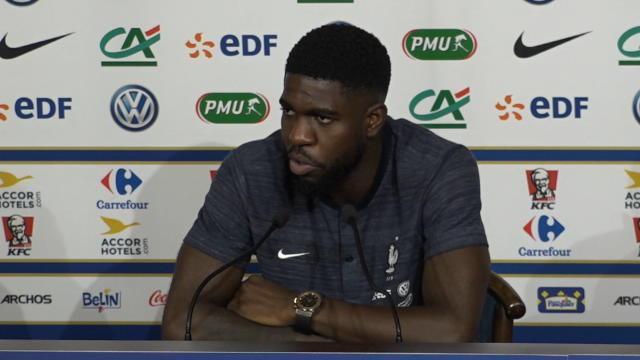 Umtiti : «Dembélé arrive en pleine forme»