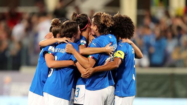 L'Italia vola al Mondiale dopo 20 anni! Tris al Portogallo, azzurre in estasi