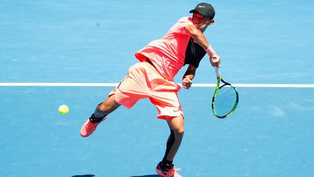 «Chun Hsin Tseng, le champion au corps d'enfant»