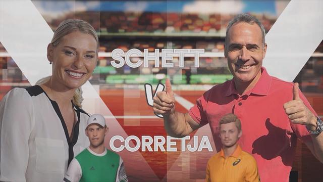 Barbara et Corretja se rendent coup pour coup sur Tennis World Tour