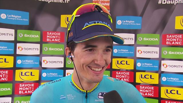 Pello Bilbao thrilled with stage six victory