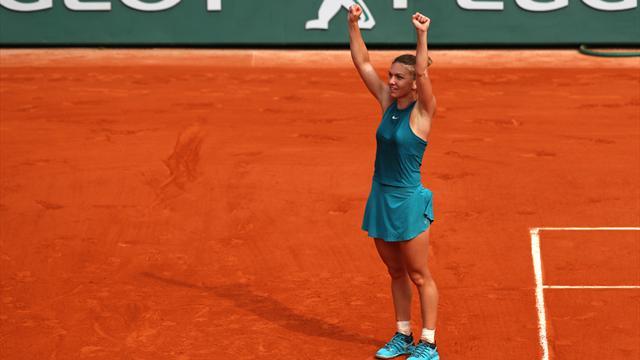 Simona Halep remporte Roland-Garros, son premier Grand Chelem