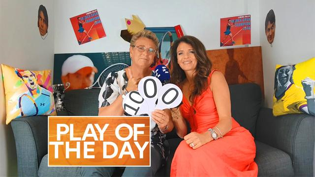 Play Of The Day: 'We're all in tears for Simona Halep'