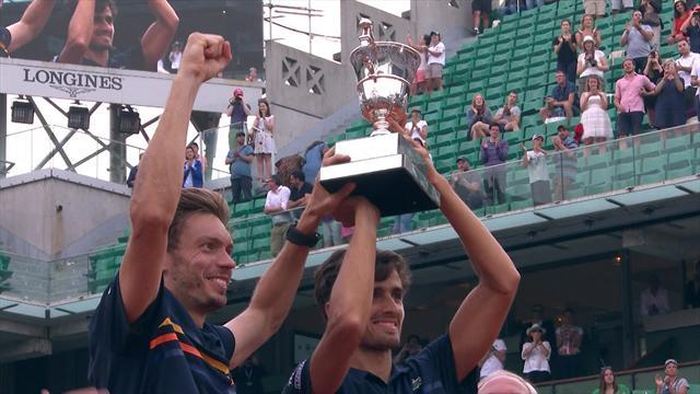Ein Traum wird wahr: Frankreich-Doppel feiert Heimsieg bei French Open