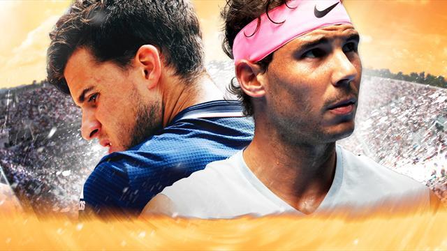 Thiem oder Nadal? Das sagt das Experten-Team um Becker und Clijsters