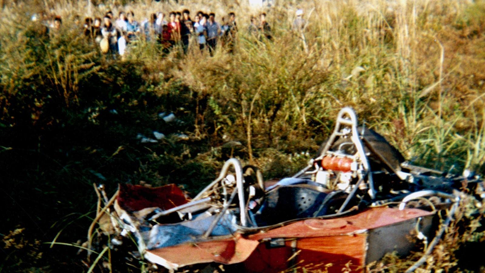 Gilles Villeneuve (Ferrari) au Grand Prix du Japon 1977