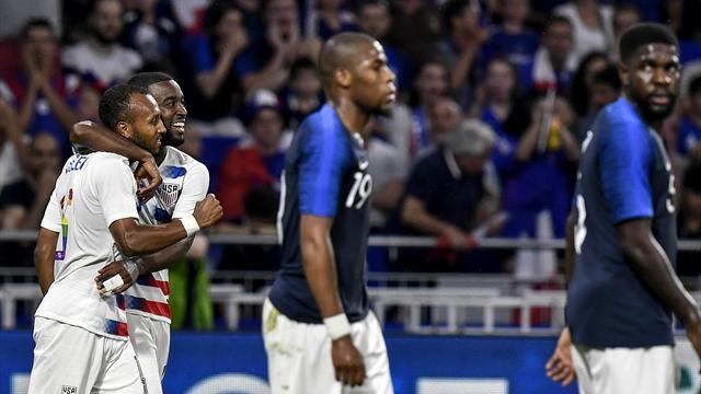 Les notes des Bleus : Une défense dans le dur, un duo Griezmann-Mbappé au niveau