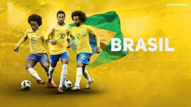 Neymar titulaire, c'est confirmé — Brésil