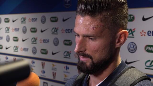 Giroud : «Pas d'inquiétude, je voulais continuer !»