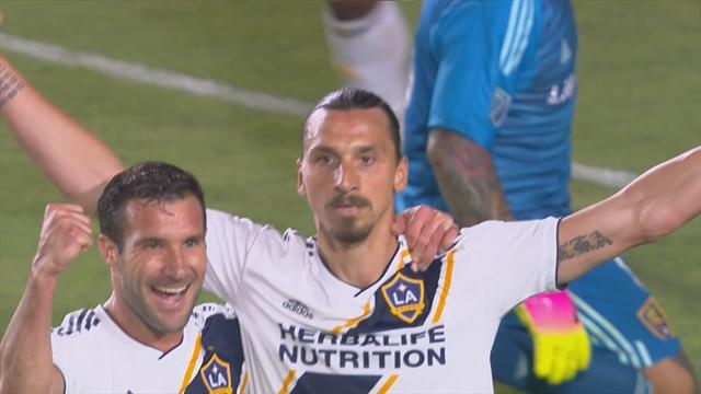 Efter petningen senast - Zlatan tillbaka som tvåmålsskytt