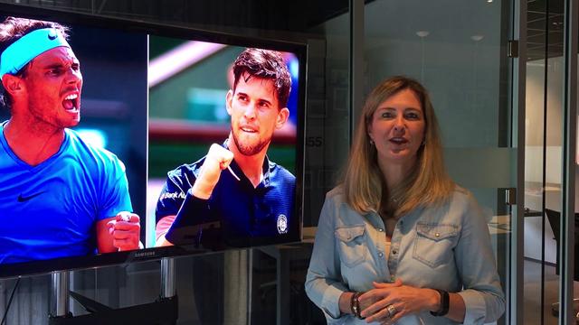 Kristie Boogert over de grote finale: 'Thiem weet hoe hij Nadal kan verslaan op gravel.'