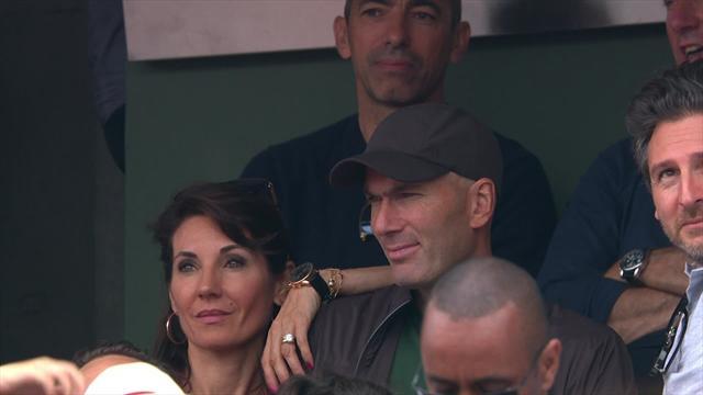 «Dieu» Zidane était présent, Nadal ne pouvait être que confiant