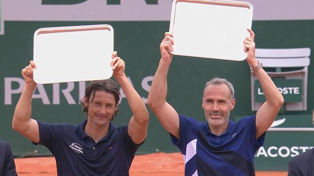 Roland Garros: Ferrero e Corretja vincono il trofeo Legends Under 45