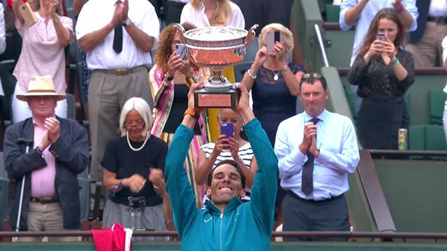 Roland Garros: Nadal-Thiem 6-4 6-3 6-2, gli highlights della finale in 180 secondi