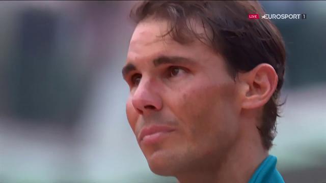 Nadal i tårar på prisceremonin