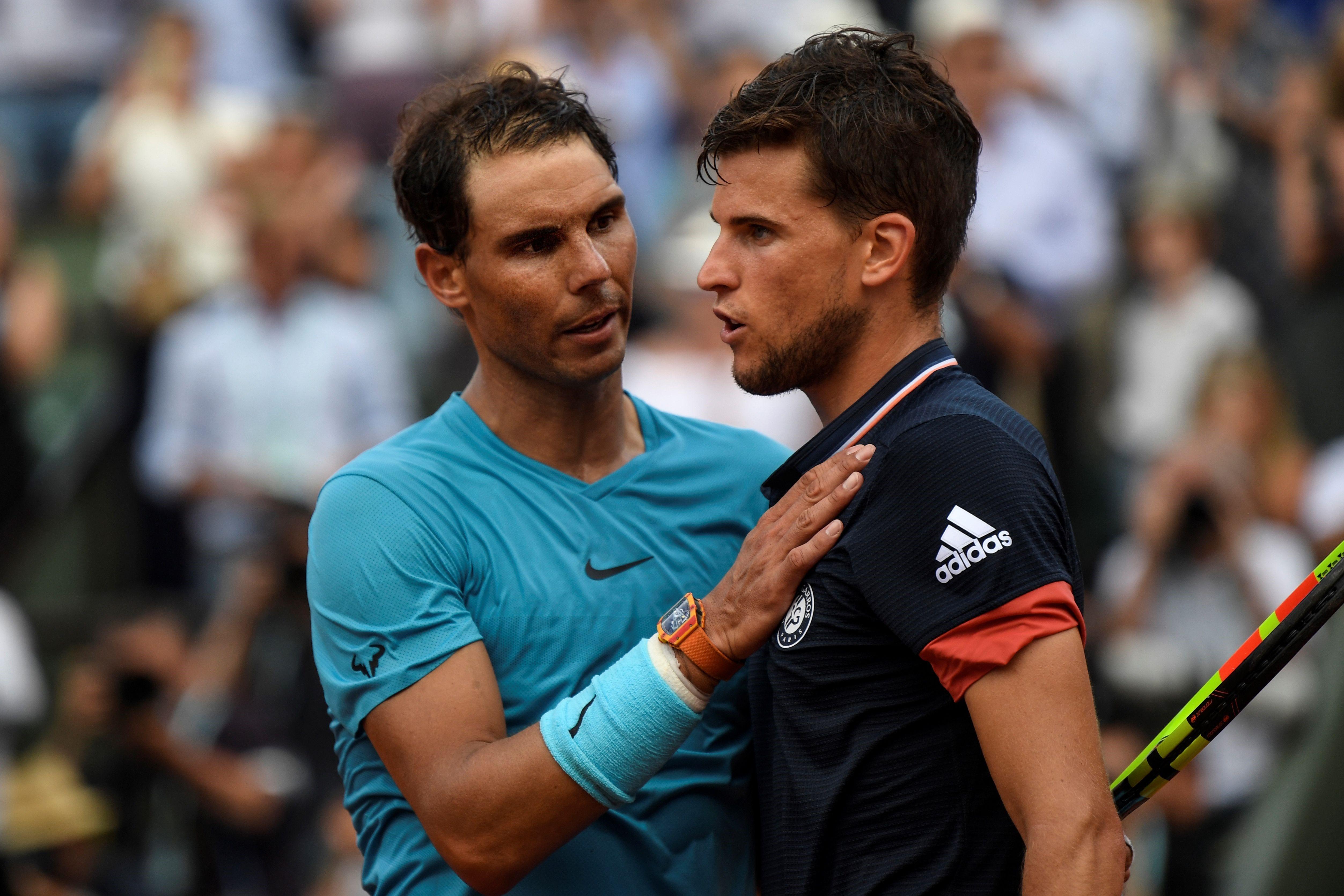 Rafael Nadal & Dominic Thiem