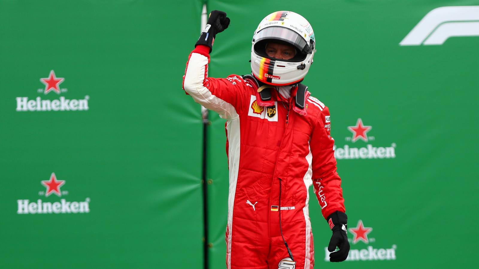 50 volte Sebastian Vettel! Vittoria e leadership. Dopo 14 anni la Ferrari torna a vincere a Montreal