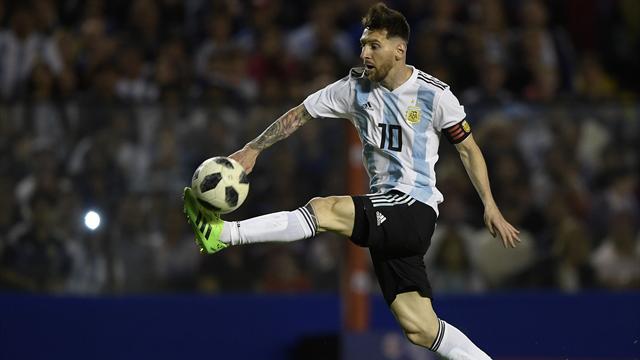 Messi lie la suite de sa carrière internationale au parcours de l'Argentine