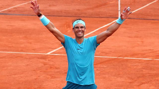 Nadals vej til Roland Garros-sejr: Se spanierens fem bedste skud