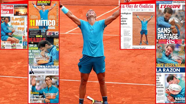 How many more French Open titles will 'superhuman' Nadal win?