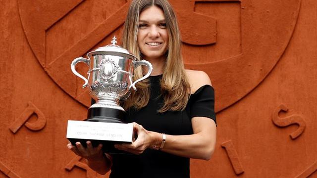 Halep continúa como número uno tras ganar Roland Garros, su primer Grand Slam