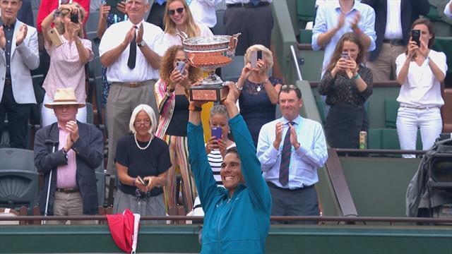 Der Weg zum 11. Titel: Der Siegeszug von Nadal in Paris 2018