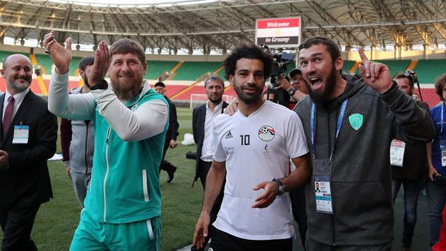 «Ахмат» – сила». Салах заговорил по-русски и впечатлил Кадырова