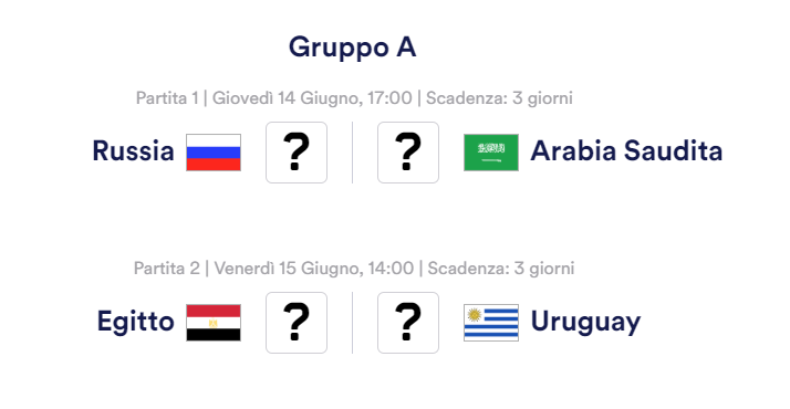 Mondiali 2018, dove vedere Russia-Arabia Saudita in Tv e in streaming