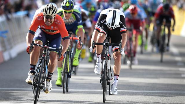 Sonny Colbrelli wint etappe 3 in Zwitserland